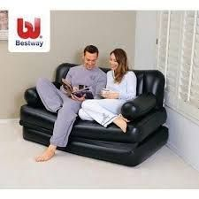 Buy Stylish And Beautiful Air Lounge Inflatable Sofa Cum Bed online