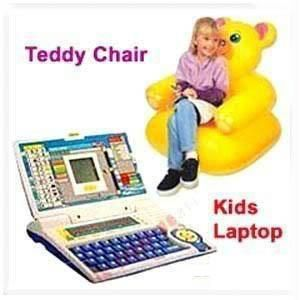 Buy Laptop With Teddy Bear Inflatable Chair Gifts Kids online