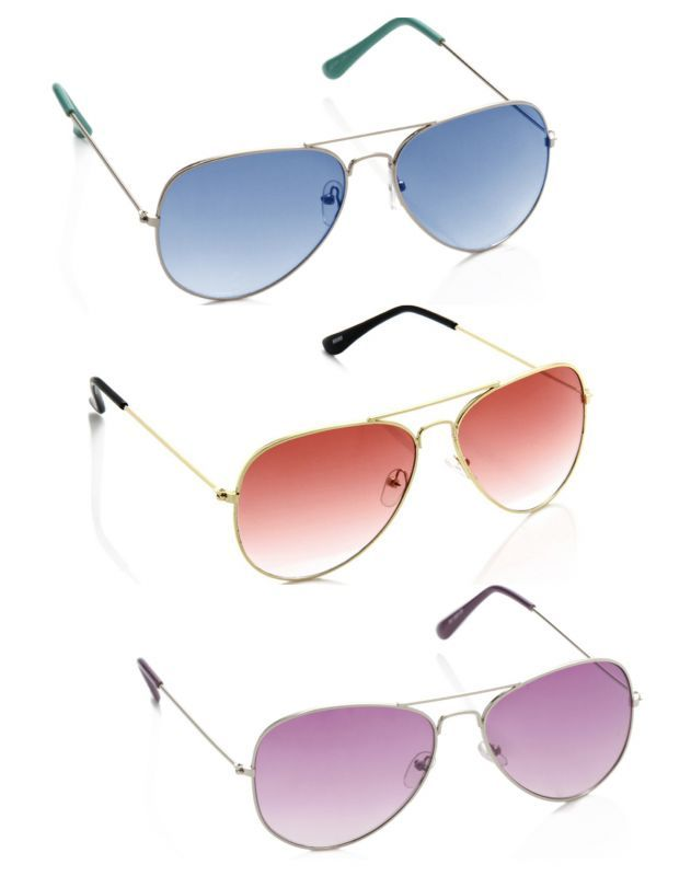 Buy Artzz Cool 3 Combo Sunglasses online