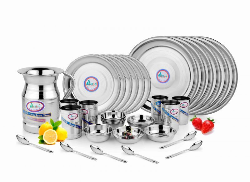 Buy Airan Khana Khazana Stainless Steel 31-piece Dinner Set online