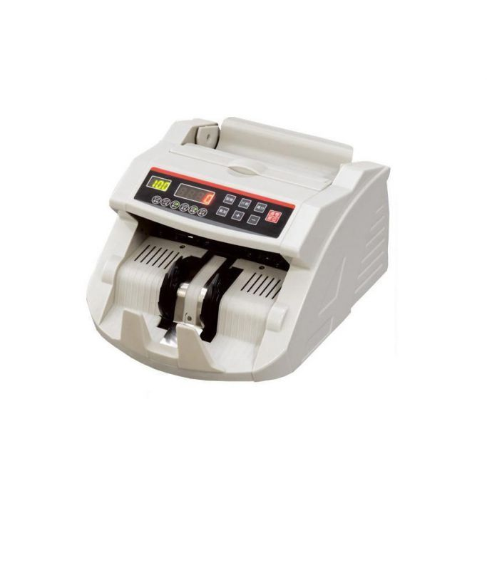 Buy Automatic Money Counting Machine With Built-in Fake Note Detector Counter online