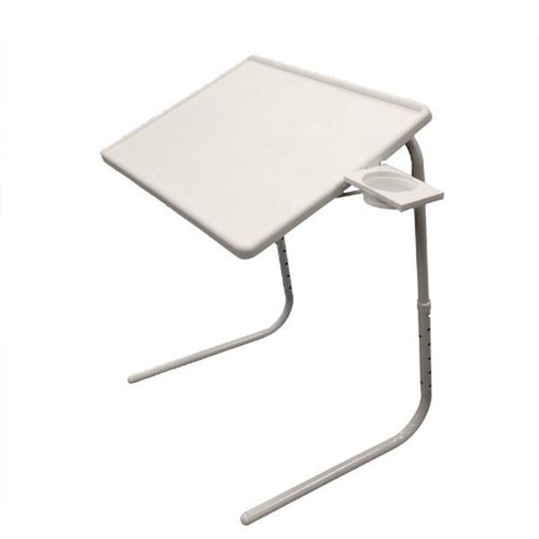 Buy White Table Mate Adjustable Portable Study Kids Laptop Bed Dinner Tablemate online