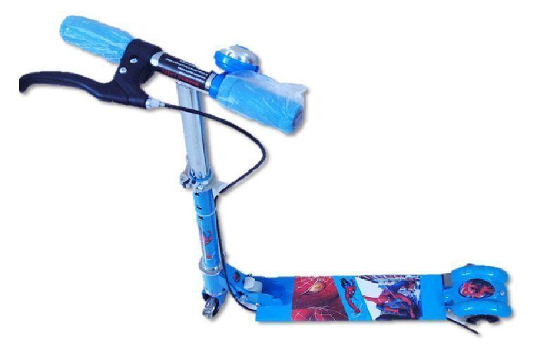 Buy Kids Alloy Foldable 3 Wheel Scooter Blue online