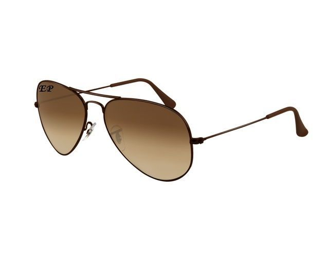 Buy EDGE Plus Brown Aviator With Brown Frame Sunglasses online