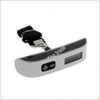 Buy Portable Handheld Electronic Digital LCD Travel Luggage Weighing Scale 50kg online
