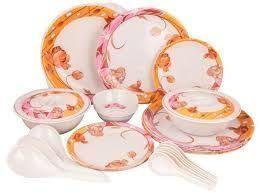 Buy Premium Quality Melamine Dinner Set 32 PCs online