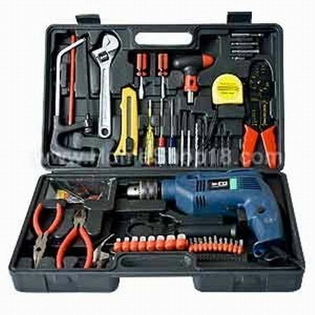 Buy Branded 102 PCs Multipurpose Toolkit Drill Machine online
