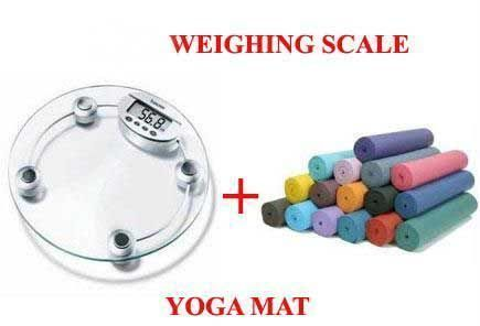 Buy Electronic Weighing Scale Comfort Yoga Mat From Indmart online