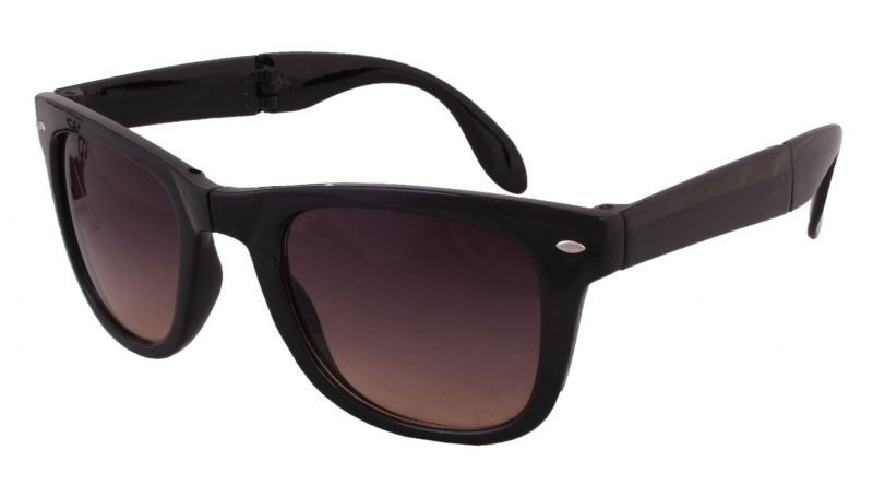 Buy Sushito 3 Fold Black Sunglass For Women online