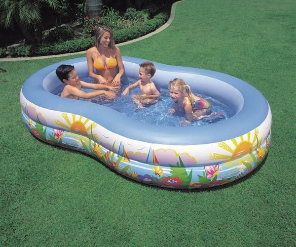 Buy Intex Swim Center Paradise Family Pool Ntex 56490ep online
