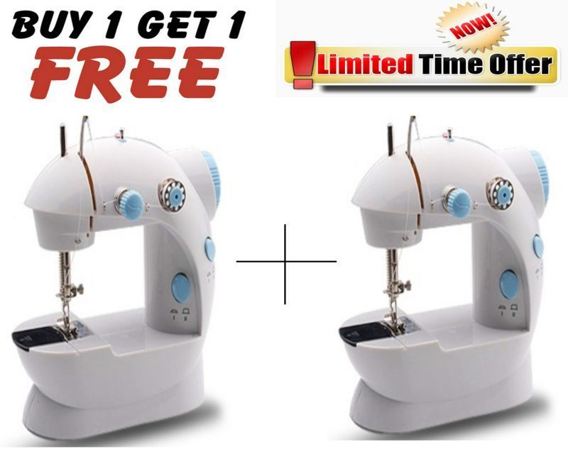 Buy Buy 1 Get 1 Free! Mini Sewing Machine With Foot Pedal - B1g1sewm01 online