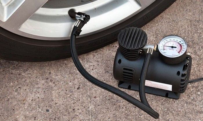 Buy 12 Volt Car Electric Air Compressor Tyre Pump online