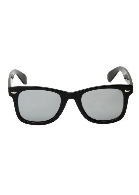 Buy Vicbono Stylish Wayfarer Sunglasses - Silver Mercury online