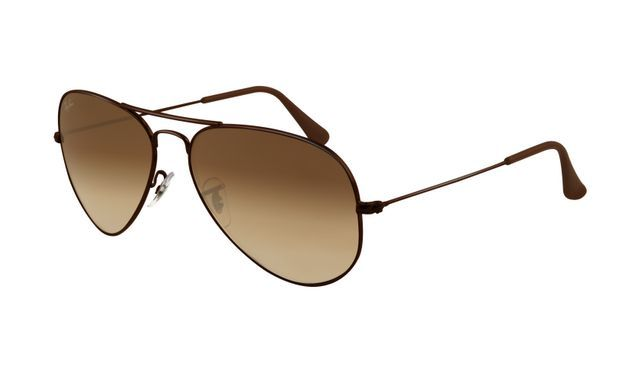 Buy Stylish Polarized Brown Aviator Sunglasses With Hard Case online