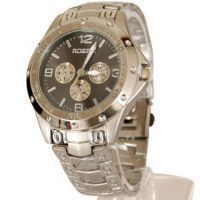 Buy New Sober And Stylish Rosra Steel Wrist Watch For Men online