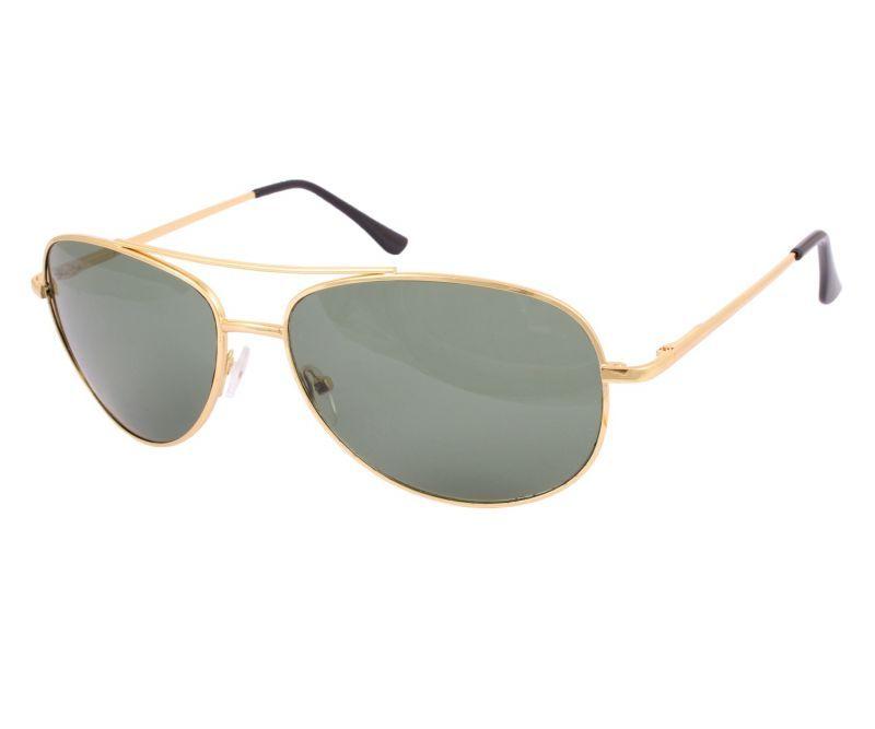 Buy Sushito Stylish Golden Aviator Sunglass For Men online