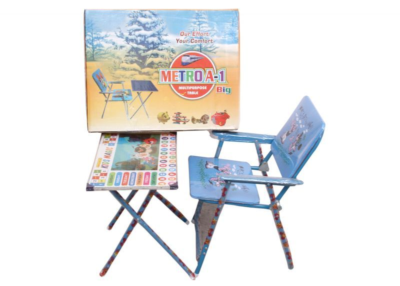 Buy Metroa-1 Kids Table Chair Blue online