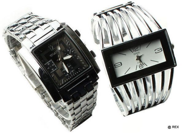 Buy Stylish Combo - Mens Watch And Womens Watch -049 online