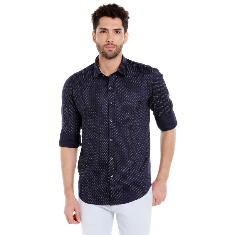 Buy Solemio Satin Shirt For Mens online