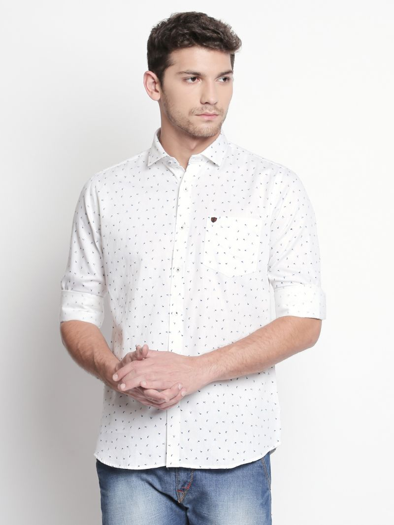 Buy Solemio White Shirt For Mens (code - S18sh1110ewh) online