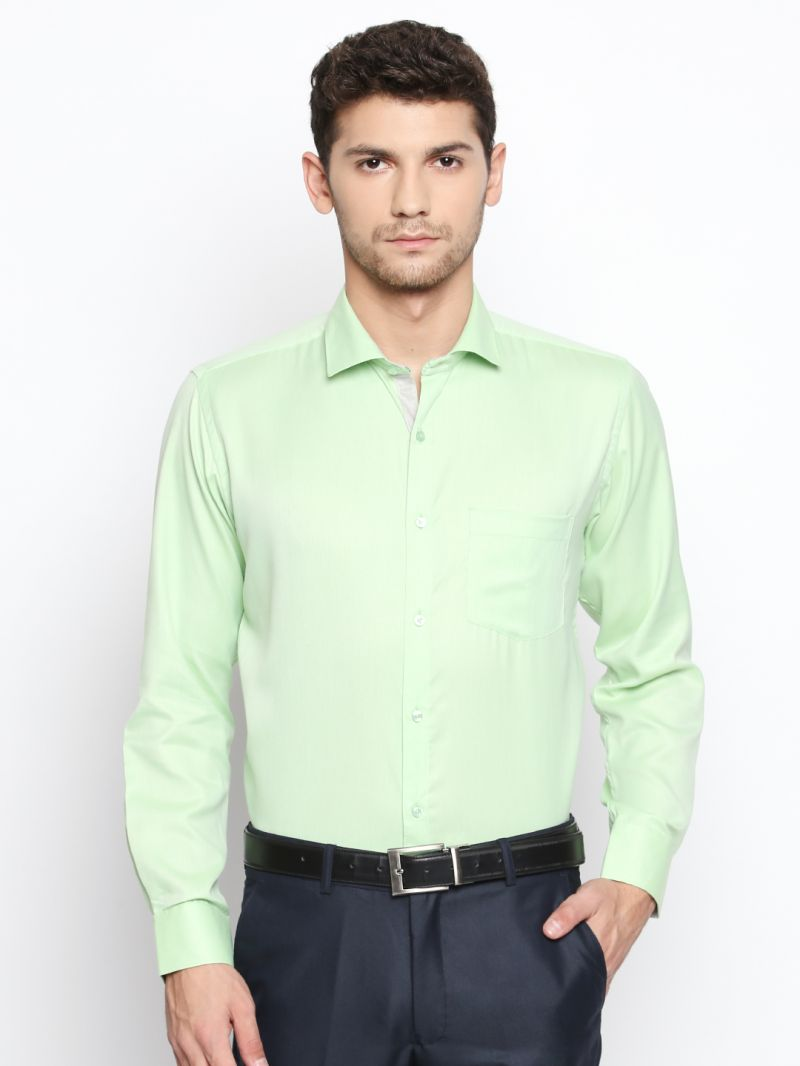 Buy Solemio Green Shirt For Mens (code - S18sh1115ege) online