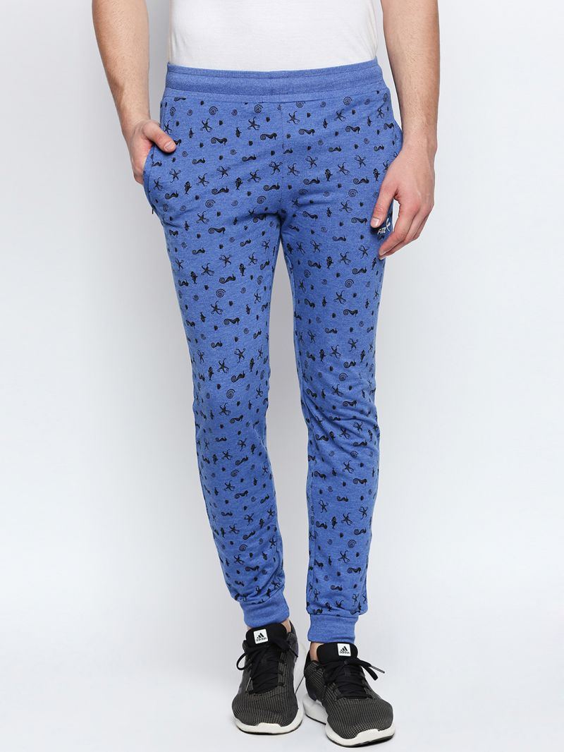 Buy Fitz Blue Slim-Fit Jogger For Mens online
