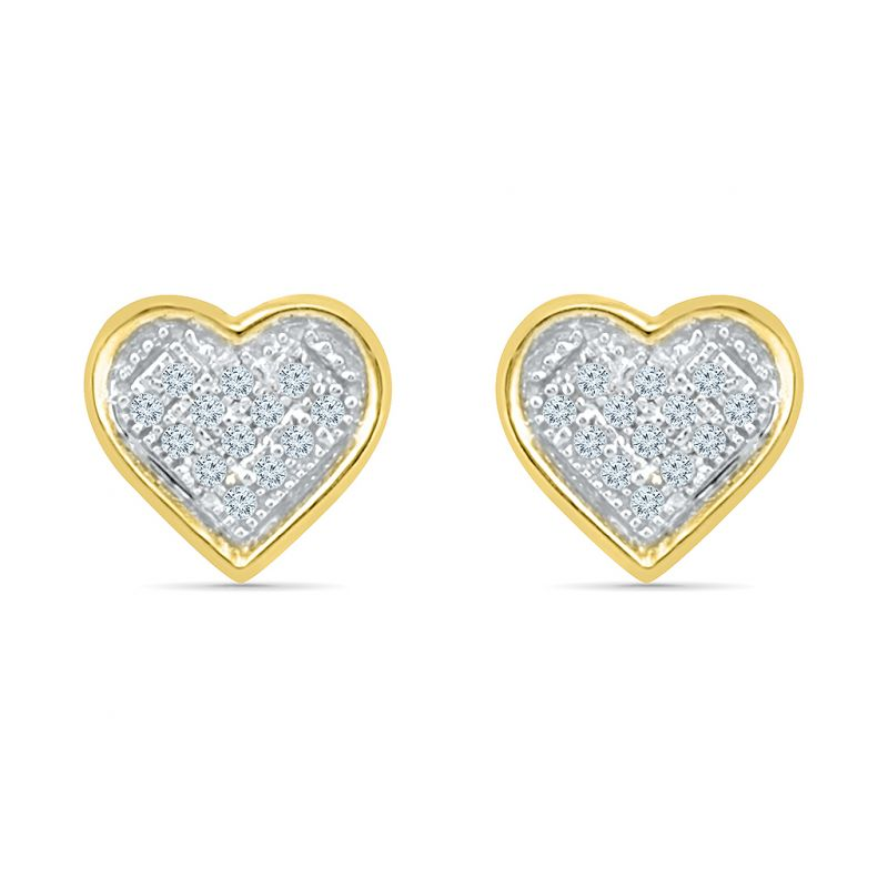 crushed elly women earrings fancy white s crush gold diamond round pav i pave and