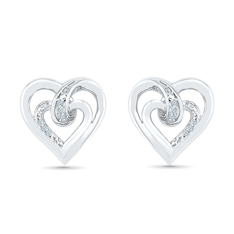 Buy Sri Jagdamba Pearls Angel Of My Heart Diamond Earring-eh076563 online