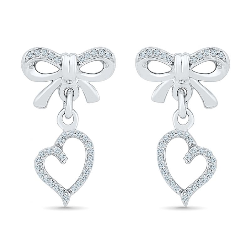 Buy Sri Jagdamba Pearls Angel Of My Heart Diamond Earring-eh076994 online
