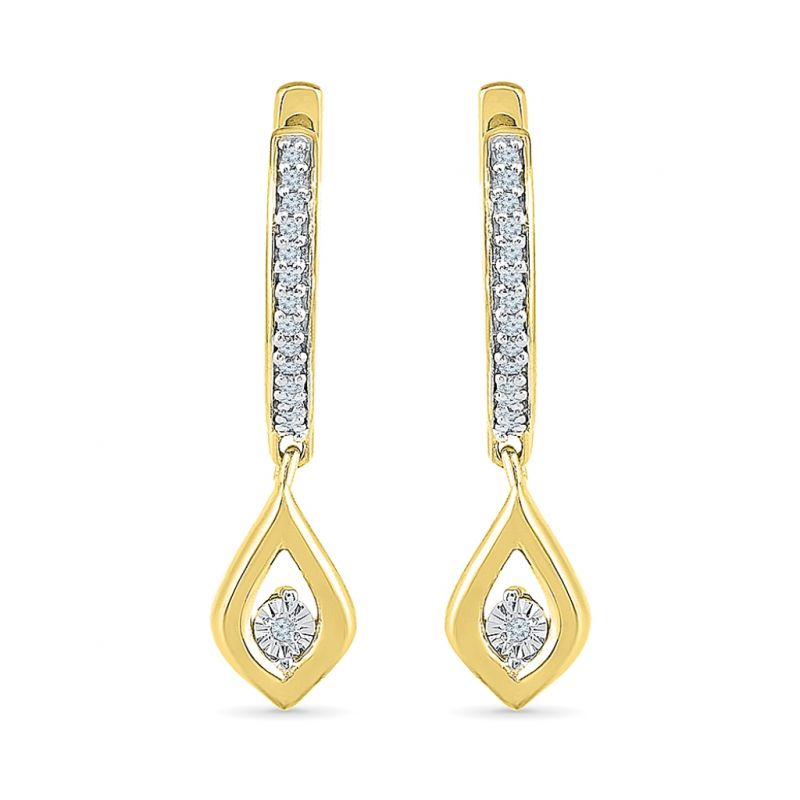 Buy Sri Jagdamba Pearls Primrose Diamond Earrings Code Eo023734 online