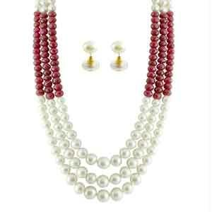 Buy Jpearls Riwaz Pearl Necklace online