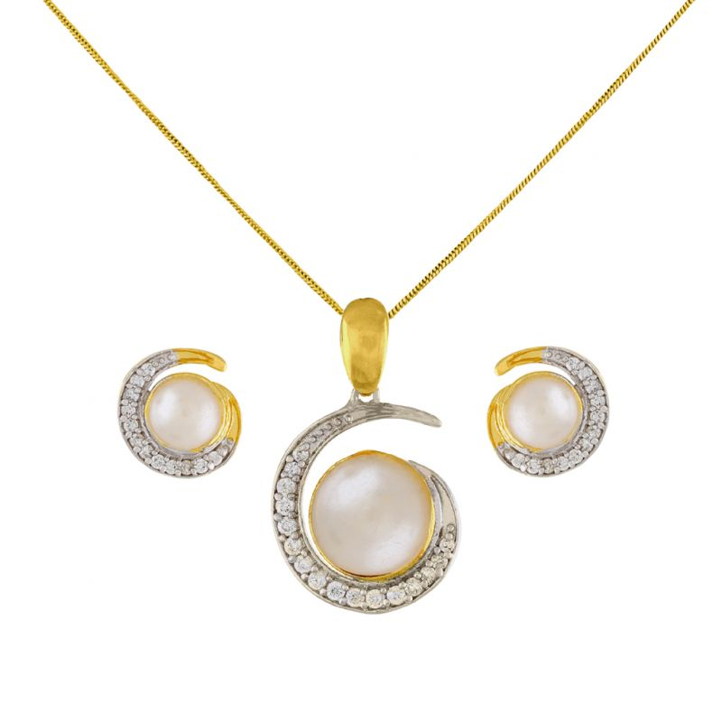 Buy Gorgeous Pendant Set Code-jpapl-17-043 online