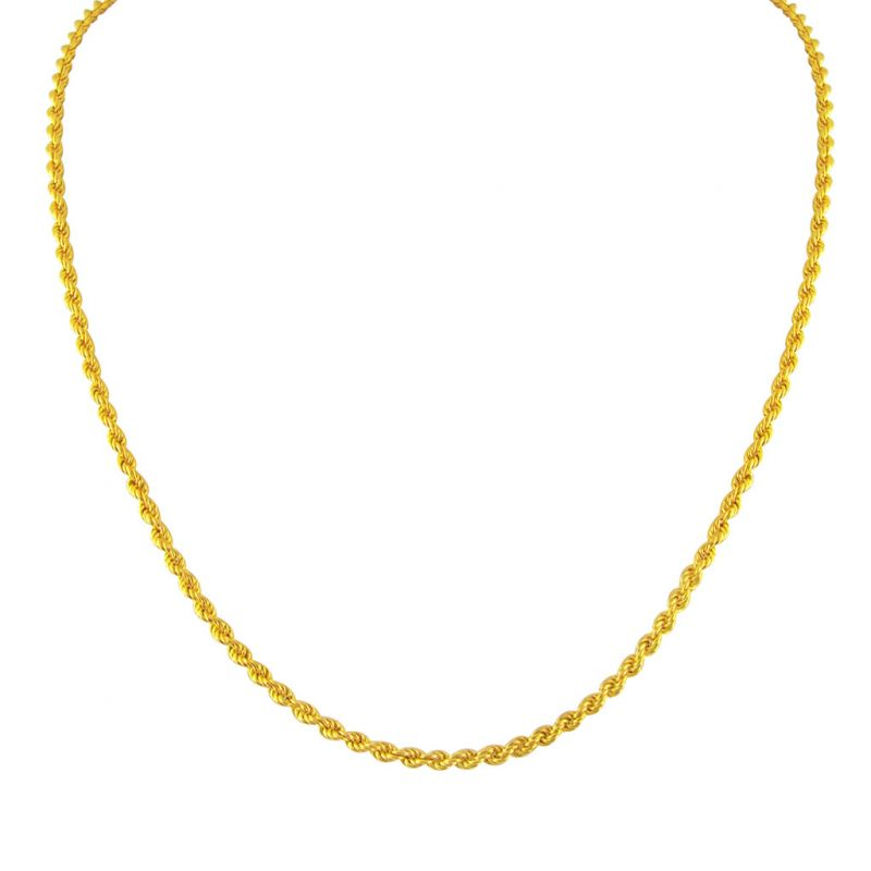 Buy Jpearls Rope Style Gold Chain online