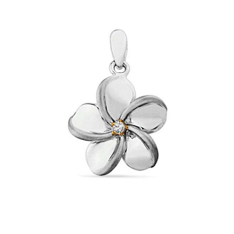 Buy Jpearls Flower Diamond Pendent online