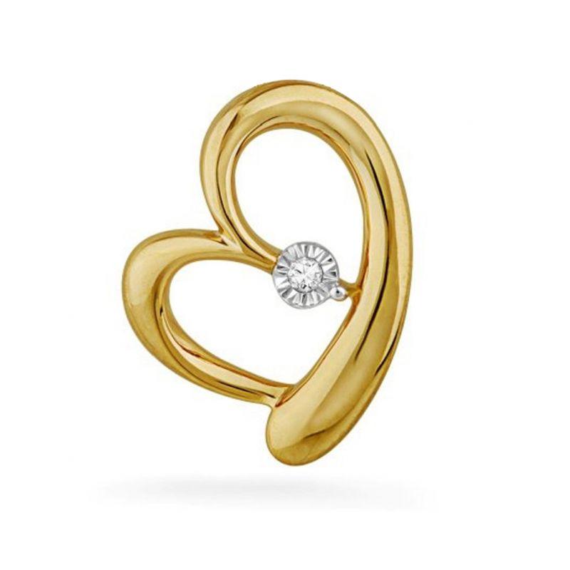 Buy Jpearls Immersed Love Diamond Pendent online