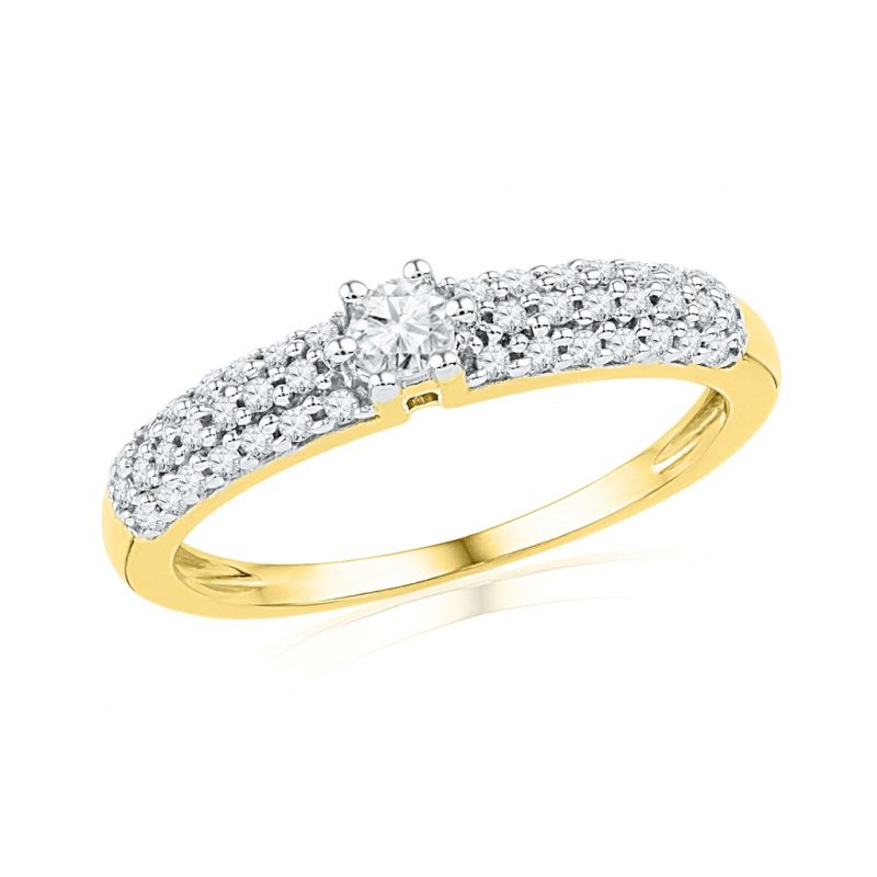 Buy Jpearls Contessa Diamond Finger Ring online