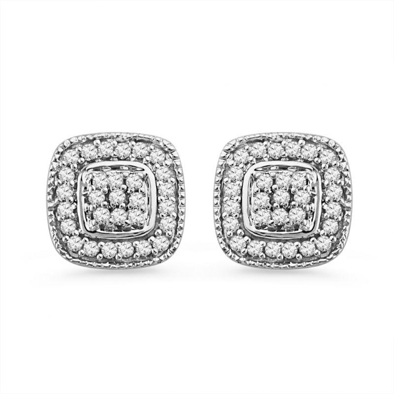 Buy Jpearls Glitzy Diamond Earrings online
