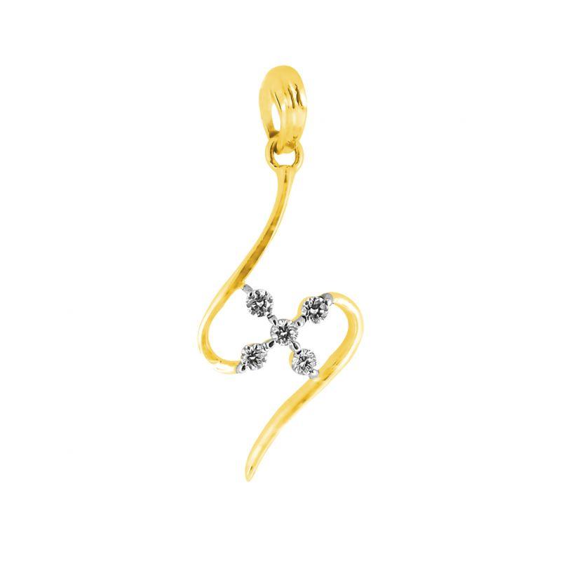 Buy Jpearls Florence Diamond Pendant online