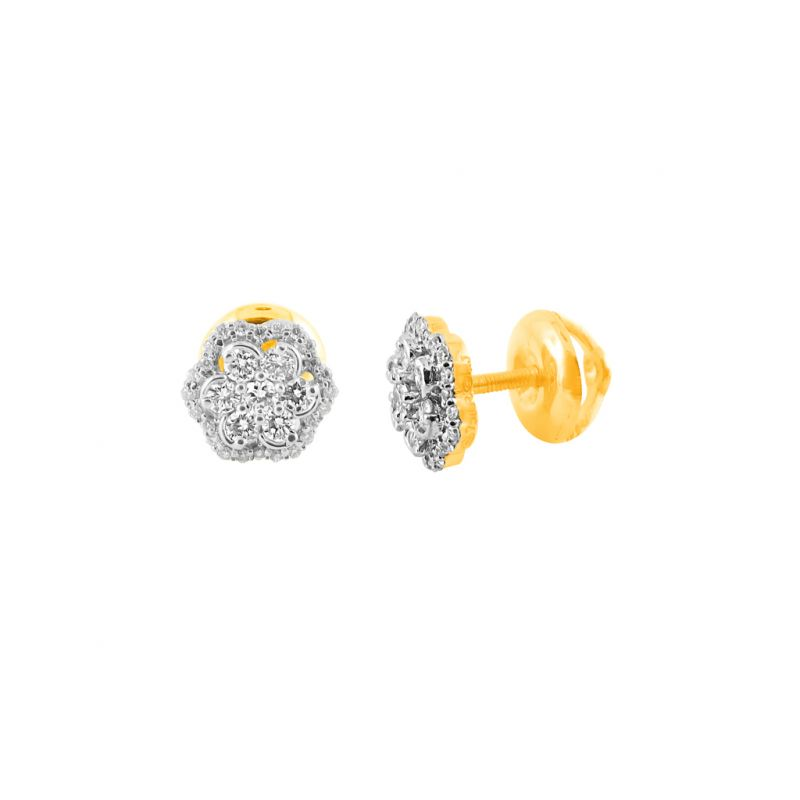 Buy Jpearls Alina Diamond Earring online