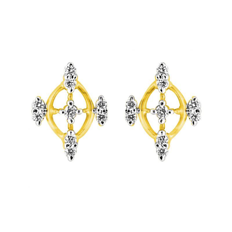 Buy Jpearls Samar Diamond Earring online