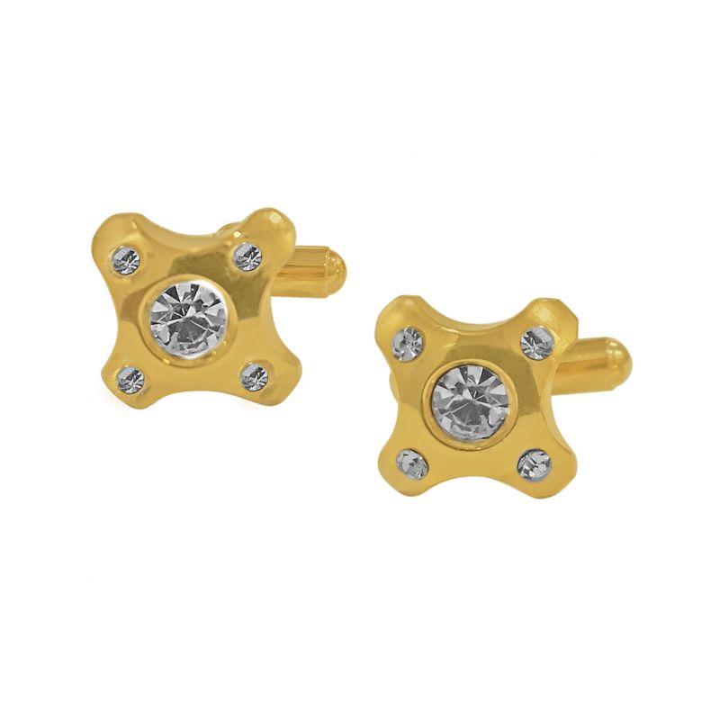 Buy Sri Jagdamba Pearls Golden Cufflinks - Jpjan-17-047 online