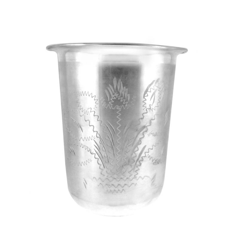 Buy Jpearls Print Silver Glass online