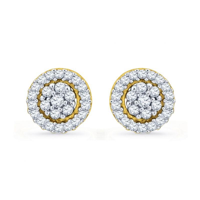Buy Jpearls Spring Diamond Earrings online