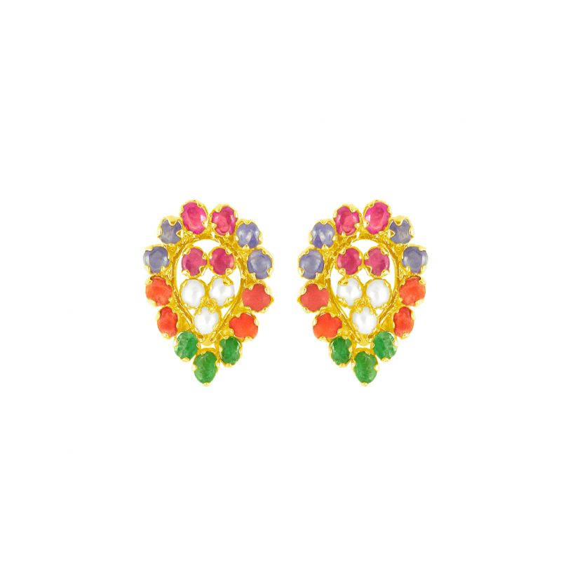 Buy Jpearls Multi Colour Earrings online