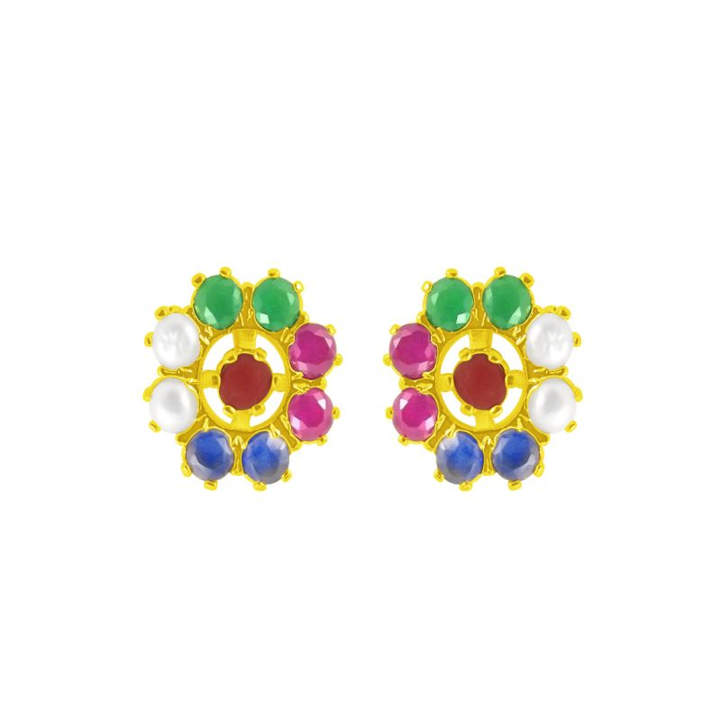 Buy Jpearls Cz Blaze Earrings online