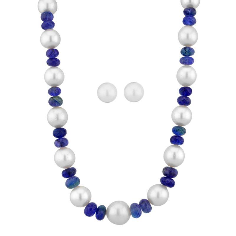 Buy Jpearls Bluestone Necklace online