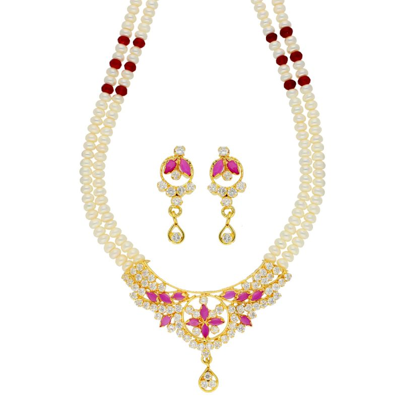 Buy Dynamic Pearl Necklace online