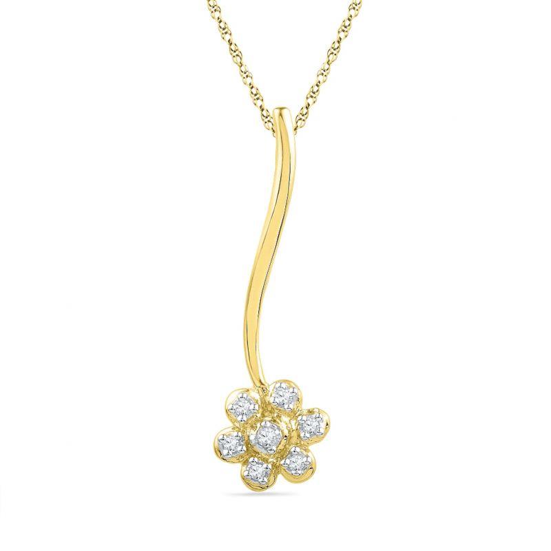 Buy Jpearls Lauren Diamond Pendant online