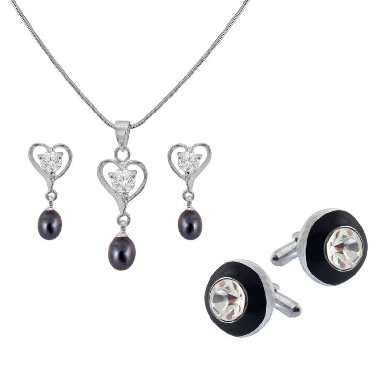 Buy Sri Jagdamba Pearls Priceless Couple Hamper - Jpv-17-26 online