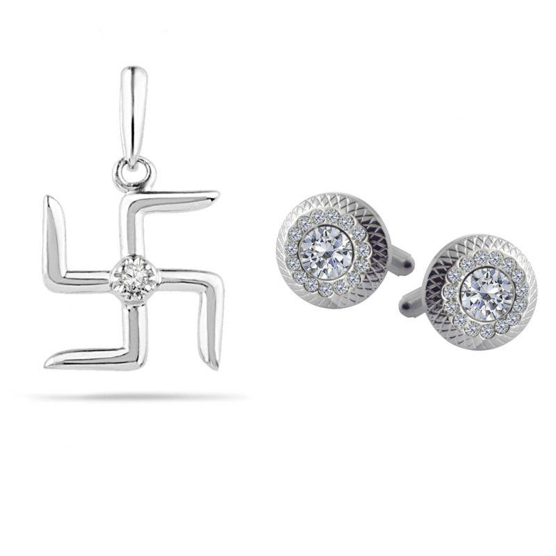 Buy Sri Jagdamba Pearls Diamond Hamper - Jsep-0173v17c online